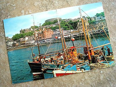 Scotland - OBAN from the pier postcard