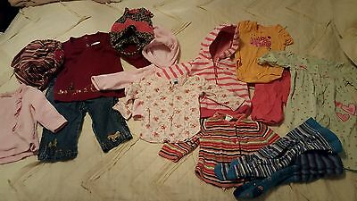 Baby girl clothes 6-12 months lot
