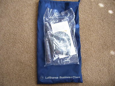 NEW Lufthansa German Airline Business Class Amenity Comfort Kit