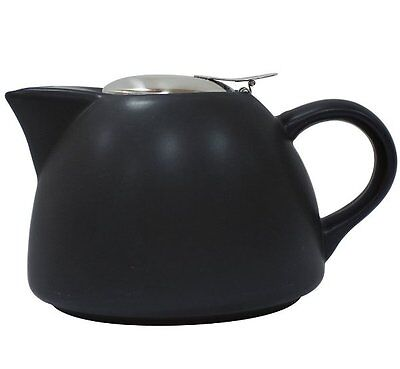 La Cafetiere BARCELONA TEAPOT with Filter BLACK 450ml Ceramic