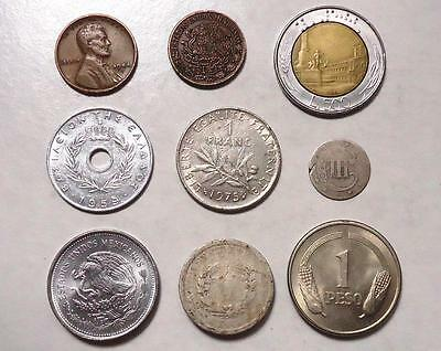 World Coins  With Silver Lot Of 18, *dates:1852 To Present*