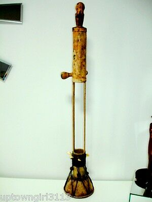 old TRIBAL musical instrument REAL TEETH SKIN Drum MONKEY BAMBOO See No Evil