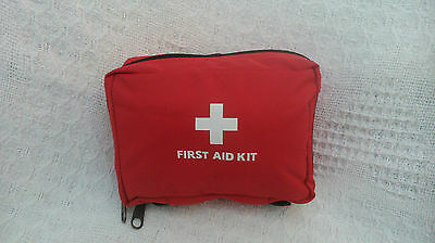 Small First Aid kit- car kit, camping kit, hiking kit. Fully stocked and ready