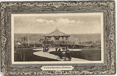 Victoria Gardens, Chatham.  Posted 1909