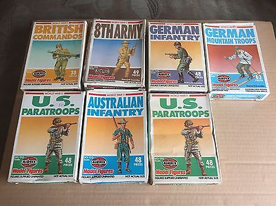 1:72 Nd Airfix  WW2 Plastic Soldiers
