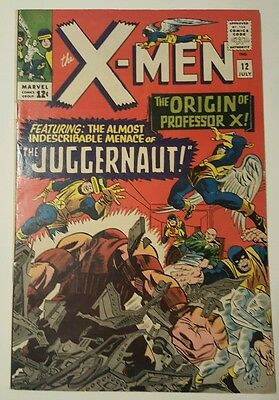 X-Men 12 1st Juggernaut VF 6.0-7.0 New movie Marvel key investment.