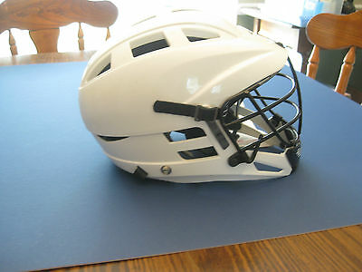 Cascade CS Lacross Helmet YOUTH WHITE - NEW