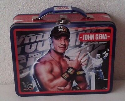 Wwe John Cena Tin Metal Lunch Box, Carry All, Toy Holder