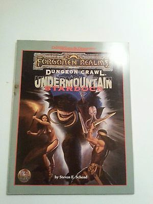 Undermountain Stardock  - Forgotten Realms - Dungeons and Dragons TSR#9538 (New)