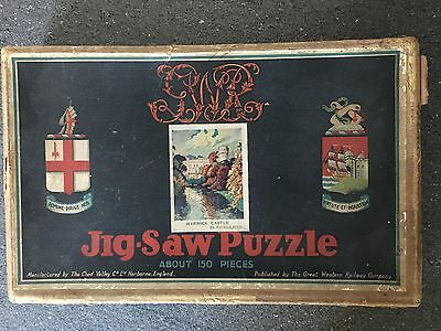 Jigsaw Puzzle, Wood Pieces, CHAD VALLEY.