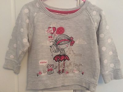girls sweatshirt 12-18 Months