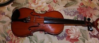 1960s Boosey and Hawkes Quarter Size Violin In Case 47cm