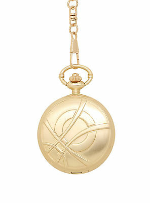 Marvel Dr Strange Eye of Agamotto Infinity Stone Pocket Watch & Chain NEW Boxed