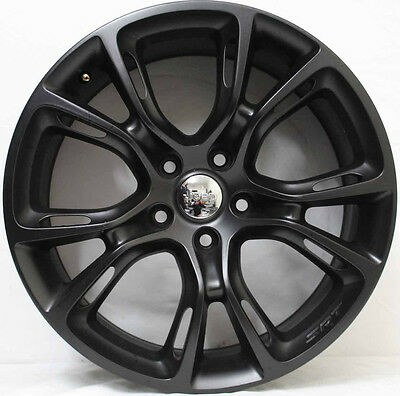 20inch GENUINE JEEP GRAND CHEROKEE SRT8 SPIDER MONKEY FORGED ALLOY WHEELS  BLACK