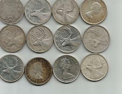 Huge Lot Over 13$  Face Value In Silver Coins  -- Super Great Shipping Deal