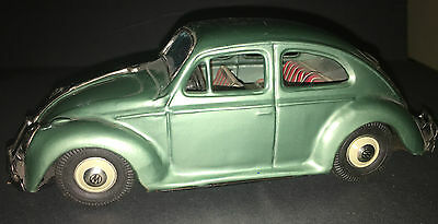 Tin  Friction Bandai VW Volkswagen Toy Car ~ Japan EXCELLENT CONDITION