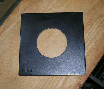 genuine Sinar F & P  lens board panel with copal 3 65mm hole