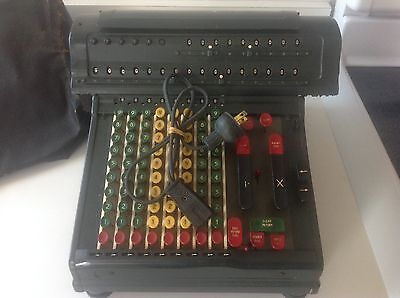 Vintage Marchant FigureMatic Adding Machine Calculator AS IS UNTESTED 1940-50's