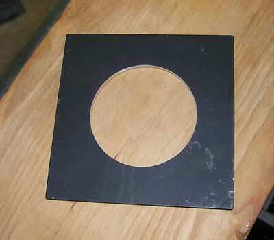 pattern  Sinar F & P fit  lens board panel with large 83mm hole