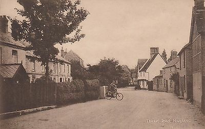 Houghton Cambridgeshire Thicket Road Postcard  c1912