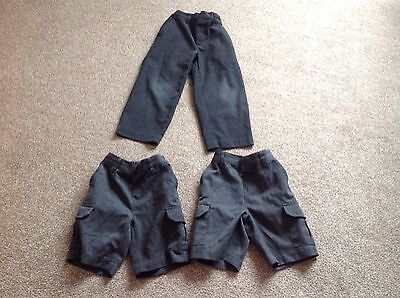 Boys School Trousers And Shorts Age 4-5 Yr