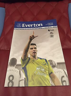 Everton V Bournemouth 2017 Premier League Football Programme