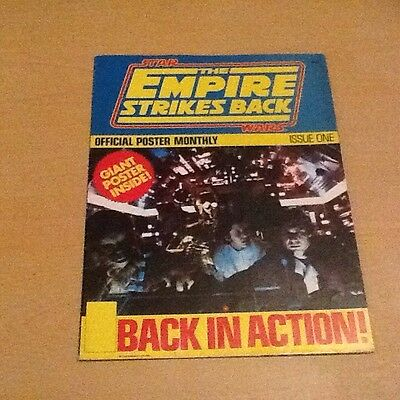 Star Wars Empire Strikes Back Giant Poster Book Issue One 1980 - A4 folds to A1