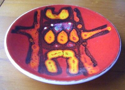 """Poole Pottery Delphis Collection 5"""" Pin Dish"""