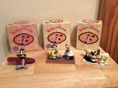 Wallace and Gromit  4 Figures A Close Shave