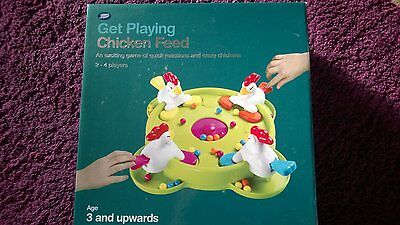 Feed the Chickens Game - Quick, easy and fun!