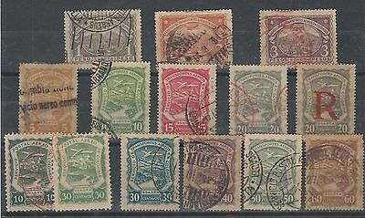 Colombia: Some air stamps differents used, VF, Good Value. CO22