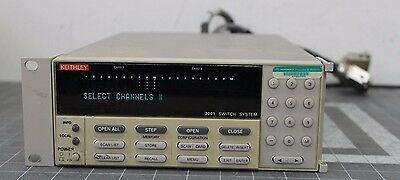 Keithley 7001 Switch System W/ 7020-D & 7037-D