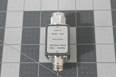 LOT OF TWO Wiltron Limiter 1N50 1MHZ--1500MHZ