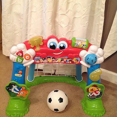 Clementoni Baby World Cup Winner Goal, Toddler Talking Goal With Ball.RRP £25!!!