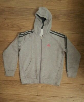 Girls Adidas Tracksuit Top 9-10 Years