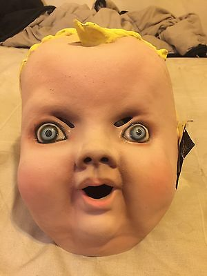 "Slipknot Tagged Vintage Distortions Unlimited Baby Face ""cuddles"" Mask"