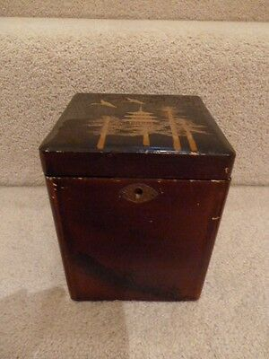 Tea Caddy with chinese design