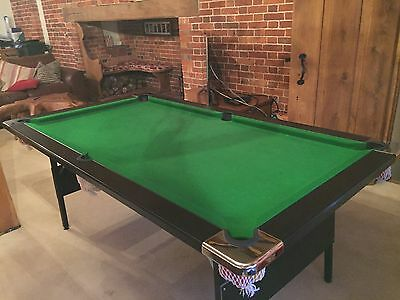 SNOOKER/POOL TABLE - 6ft x 3ft