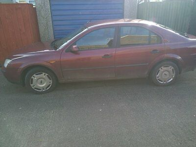 Ford Mondeo 2003 with MOT Repairable (spare or repair)