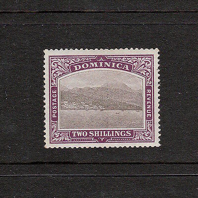 Dominica 1903 Two Shillings Pictorial Stamp: S.g. 34 Mint, Great Condition