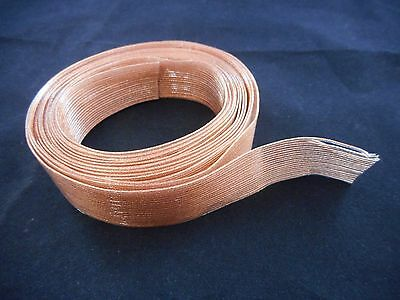 "NEW CICOIL Flat Ribbon Copper Cable Clear 20 Conductors .050"" (1.27mm) 10'L (3m)"