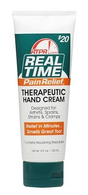 Real Time Pain Relief - Hand Cream 4oz Tube