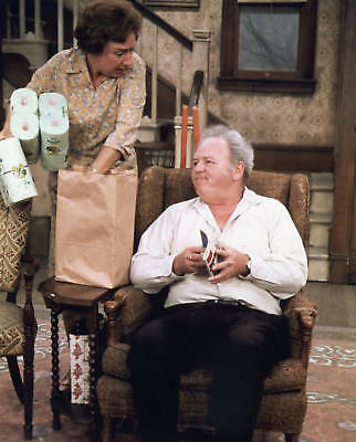 """All in the Family"" Carroll O'Connor / Jean Stapleton 4x6 FREE US SHIPPING"