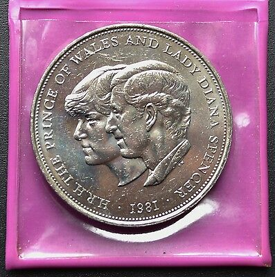 1981 Charles & Diana Uncirculated Comemorative Crown