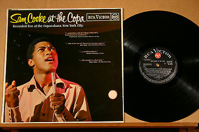 SAM COOKE-At The Copa-/UK '65 RCA VICTOR (RD-7674) 1st press red dot MONO LP
