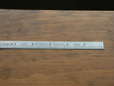 "Starrett - 6"" Machinist Stainless Steel Rule 1309R"