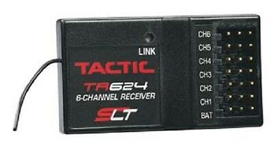 TACTIC SLT 2.4GHz 6Ch Rx 6 Channel Receiver Only TACL0624