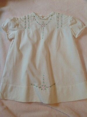 Vintage Embroidered Baby Toddler Dress