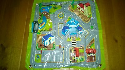Kids Roads Toy Map Floor Mat Rug for Cars Play Girls Boys Children Bedroom