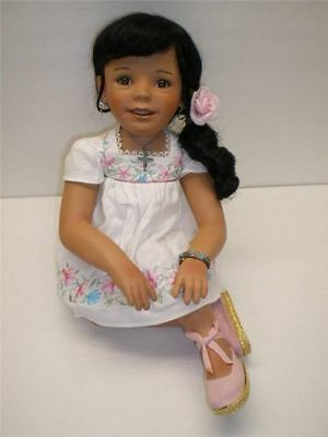 Kelly RuBert   Anna- Latina Collection Doll by Danbury Mint